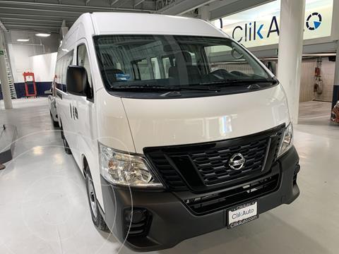 Nissan Urvan 12 Pas Aa usado (2021) color Blanco precio $489,000