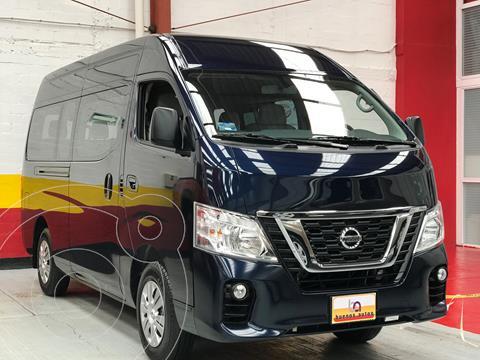 Nissan Urvan 12 Pas Aa Pack Seguridad usado (2021) color Azul precio $539,900