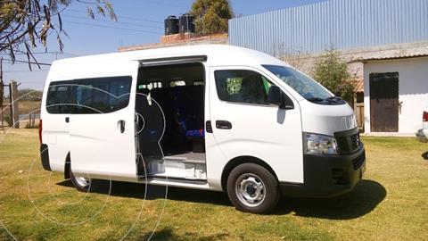 Nissan Urvan Panel Ventanas Amplia usado (2016) color Blanco precio $310,000