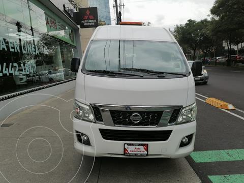 Nissan Urvan 12 Pas Aa usado (2017) color Blanco precio $380,000