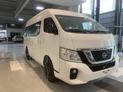 foto Nissan Urvan 15 Pas Amplia Aa Pack Seguridad usado (2019) color Blanco precio $449,000