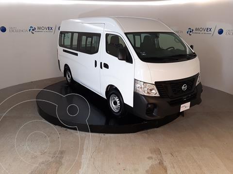 Nissan Urvan Panel Ventanas Amplia Pack Seguridad usado (2021) color Blanco precio $479,000