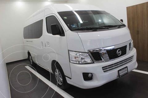 Nissan Urvan 15 Pas Amplia Pack Seguridad Die usado (2017) color Blanco precio $379,000