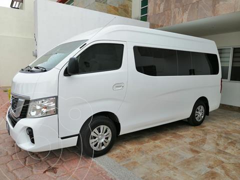Nissan Urvan 15 Pasajeros usado (2020) color Blanco precio $500,000