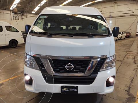 Nissan Urvan 15 Pas Amplia Aa Pack Seguridad usado (2018) color Blanco precio $449,900