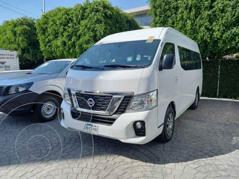 Nissan Urvan 15 Pas Amplia Aa Pack Seguridad usado (2019) color Blanco precio $495,000