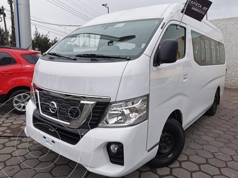 Nissan Urvan 15 Pas Amplia Aa Pack Seguridad usado (2019) color Blanco precio $500,000