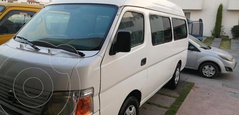 Nissan Urvan Panel Vidrio Toldo Alto 4P usado (2008) color Blanco precio $98,000