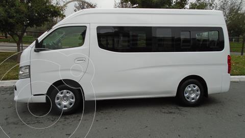 Nissan Urvan 15 Pas Amplia Aa Pack Seguridad usado (2018) color Blanco precio $319,900
