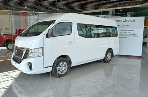 Nissan Urvan 15 Pas Amplia Pack Seguridad Die usado (2019) color Blanco precio $478,000