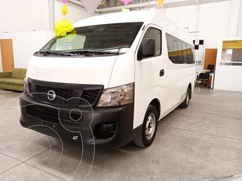 Nissan Urvan Panel Amplia Aa usado (2017) color Blanco precio $330,000