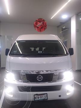 Nissan Urvan 15 Pas Amplia  usado (2016) color Blanco precio $310,000