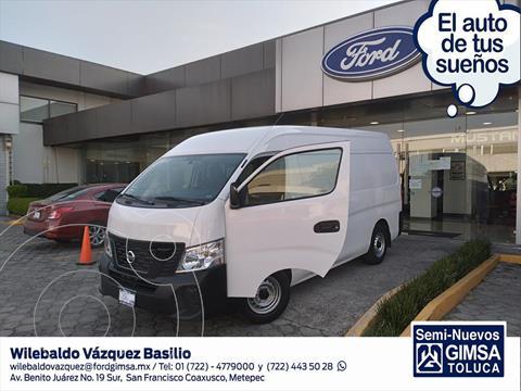 Nissan Urvan Elija una version usado (2021) color Blanco precio $436,000