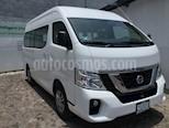 Foto venta Auto usado Nissan Urvan NV350 URVAN 15 PASAJEROS AMPLIA A/A PAQ SEG T/M (2019) color Blanco precio $479,600