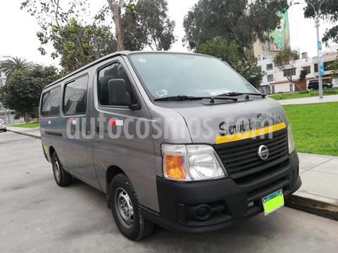 Nissan Urvan Van 3.0L 5P Di usado (2010) color Plata precio u$s16,500