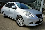 Foto venta Auto usado Nissan Versa 4p Advance L4/1.6 Aut (2012) color Plata precio $115,000