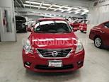 Foto venta Auto usado Nissan Versa 4p Advance L4/1.6 Aut (2012) color Rojo precio $120,000