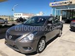 Foto venta Auto usado Nissan Versa Advance Aut (2017) color Gris Oscuro precio $420.000