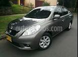 Foto venta Carro usado Nissan Versa Advance color Gris precio $27.500.000