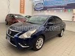 Foto venta Auto Seminuevo Nissan Versa Advance (2018) color Azul precio $208,000