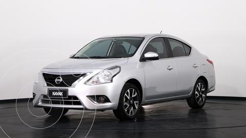 Nissan Versa Exclusive Aut usado (2017) color Plata precio $1.500.000