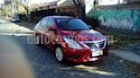 Nissan Versa Sense Aut usado (2019) color Rojo Nacarado precio $1.350.000