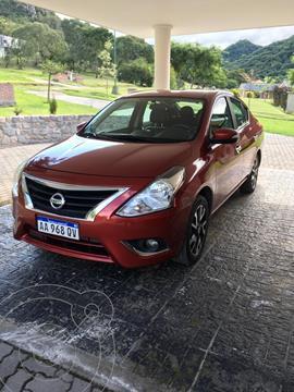 Nissan Versa Exclusive Aut usado (2017) color Rojo precio $1.050.000
