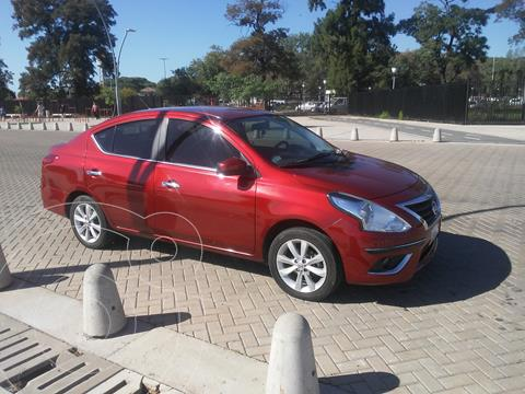 Nissan Versa Advance usado (2018) color Rojo Nacarado precio u$s9.500