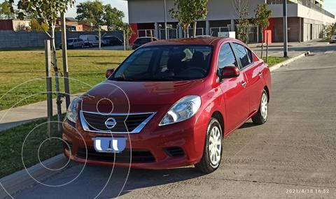 Nissan Versa Visia usado (2014) color Rojo Tinto precio $850.000