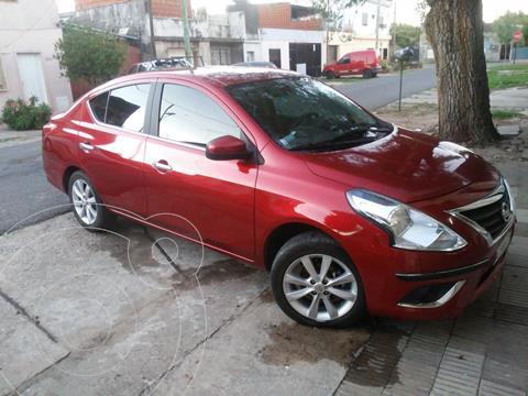 Nissan Versa Advance usado (2018) color Rojo Nacarado precio $1.600.000