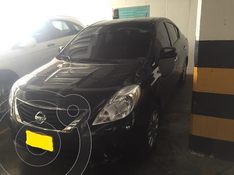 Nissan Versa Advance Aut  usado (2014) color Negro precio $27.600.000