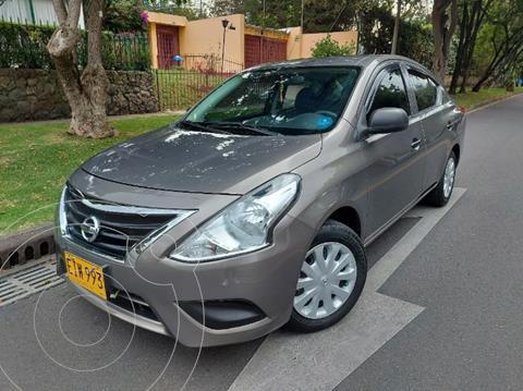 Nissan Versa Sense  usado (2018) color Marron precio $41.900.000