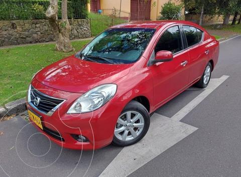 Nissan Versa Advance usado (2014) color Rojo precio $33.400.000