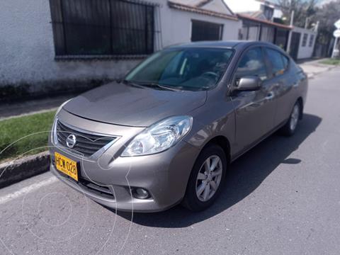 Nissan Versa Advance Aut  usado (2014) color Marron precio $32.900.000