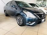 Foto venta Auto usado Nissan Versa Exclusive Aut (2017) color Azul precio $189,000