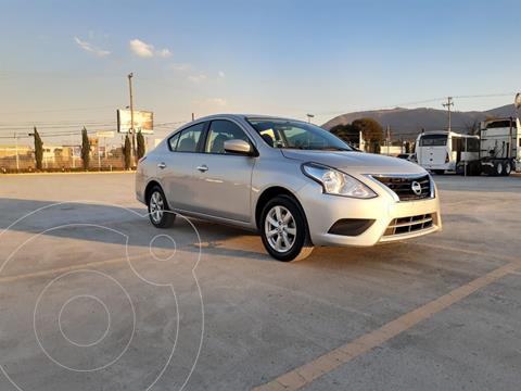 Nissan Versa Sense Aut usado (2019) color Plata Dorado precio $185,000