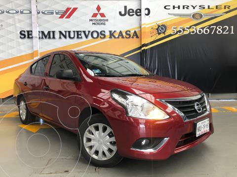 Nissan Versa Drive usado (2020) color Rojo precio $199,000