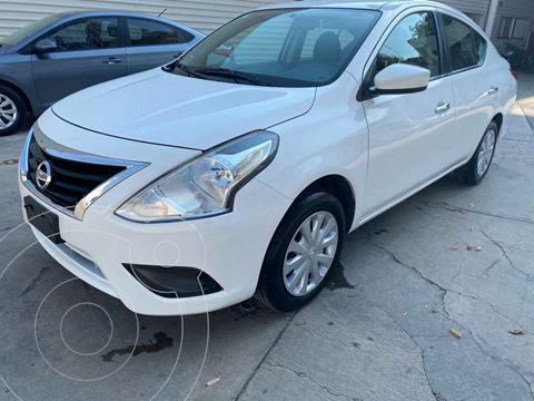 Nissan Versa Sense usado (2018) color Blanco precio $176,000