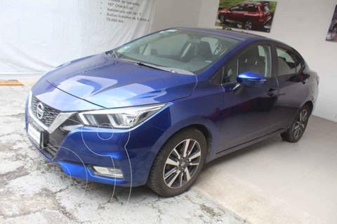 Nissan Versa Advance usado (2020) color Azul precio $275,000