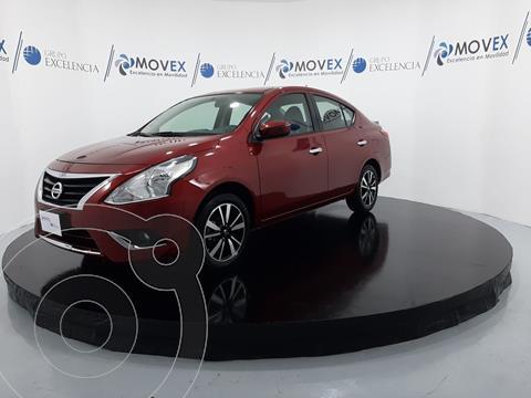 Nissan Versa Exclusive NAVI Aut usado (2018) color Rojo precio $279,000