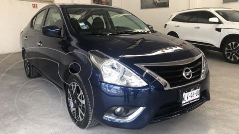 Nissan Versa Advance usado (2019) color Azul precio $210,000