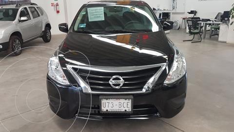 Nissan Versa Sense Aut usado (2019) color Negro precio $195,000
