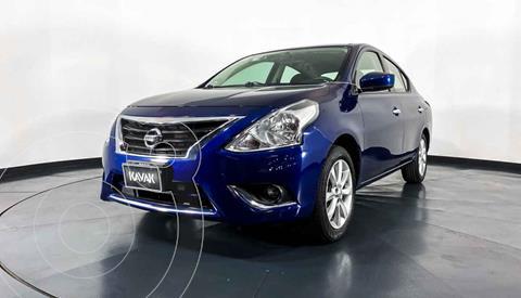 Nissan Versa Advance usado (2018) color Azul precio $199,999