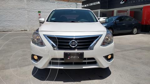 Nissan Versa Advance usado (2020) color Blanco precio $220,000