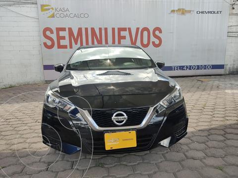 Nissan Versa Sense Aut usado (2020) color Negro precio $270,000