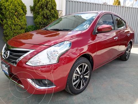 Nissan Versa Exclusive Aut usado (2019) color Rojo precio $245,000