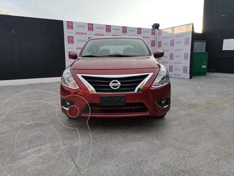 Nissan Versa Advance usado (2019) color Rojo precio $262,000