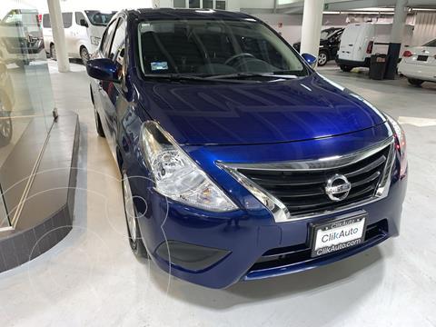 Nissan Versa Sense usado (2018) color Azul precio $193,000