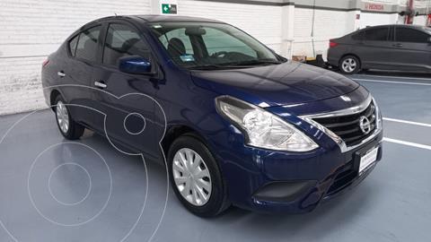 Nissan Versa Sense Aut usado (2018) color Azul precio $197,000