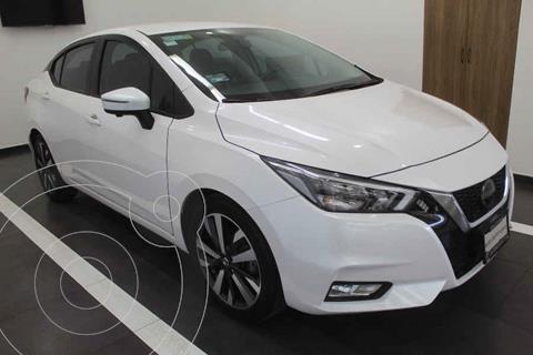 Nissan Versa Platinum Aut usado (2020) color Blanco precio $299,000